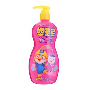 韩国 啵乐乐儿童洗护三合一400ml
