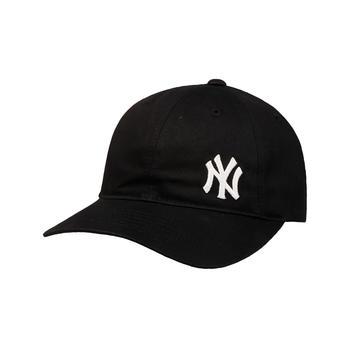 MLB棒球帽黑色小洋基软顶帽01