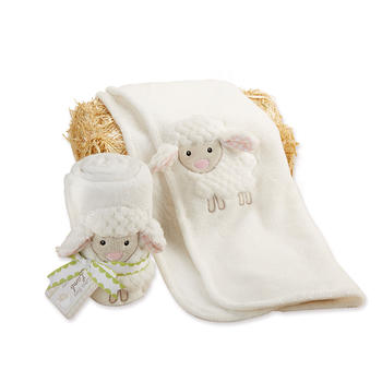 美国 BabyAspen 宝宝毛绒毛毯
