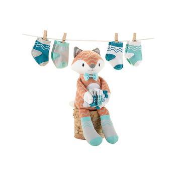 BabyAspen 婴儿纯棉袜子套装  四双装