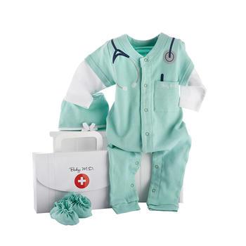BabyAspen 新生儿连体衣套装 0-6个月