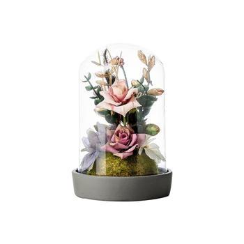 奇居良品 洛克五色花朵整体花艺