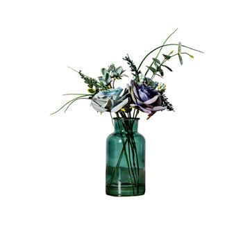 奇居良品 瑞雅蓝色玫瑰整体花艺