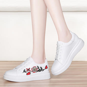 时尚韩版平底单鞋女运动休闲板鞋