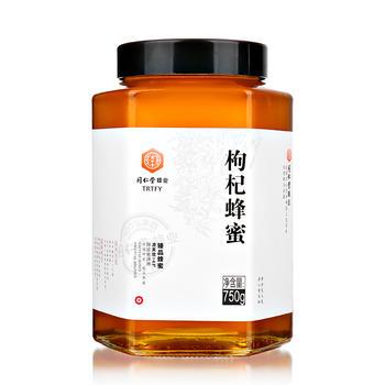 北京同仁堂臻品枸杞蜂蜜750g/瓶