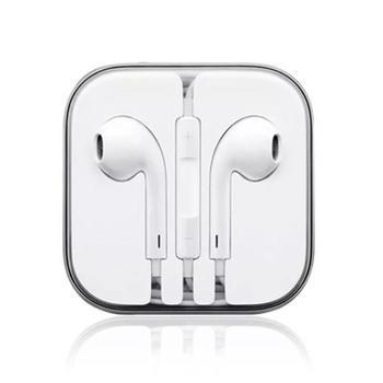 极步苹果耳机IPhone6s耳麦plus线控5s