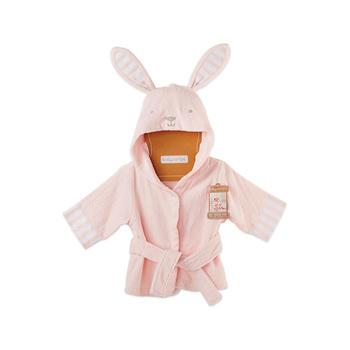BabyAspen婴童纯棉连帽浴袍 0-9个月