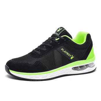 花花公子青少年气垫跑步鞋运动鞋
