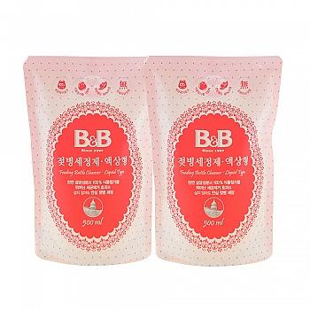 保宁卫生类套装(奶瓶清洁剂-液体型-500ml补充装*2)