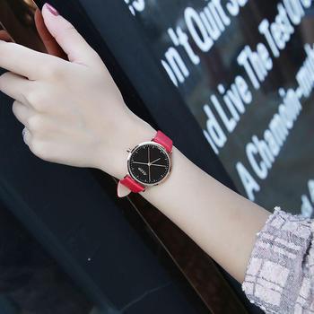聚利时简约时尚大表盘女士手表
