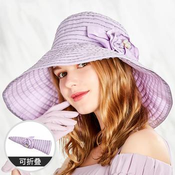卡蒙女夏季大檐小清新太阳帽