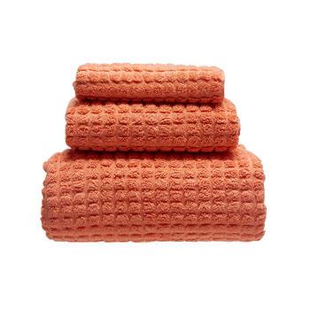 多样屋 蜜巢-埃及棉素色方面浴巾