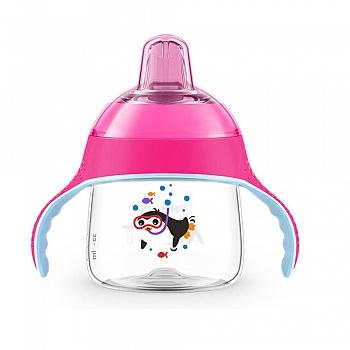 飞利浦新安怡七安士卡通企鹅杯(粉色) SCF751-32