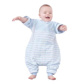 欧孕宝宝纯棉薄款分腿睡袋
