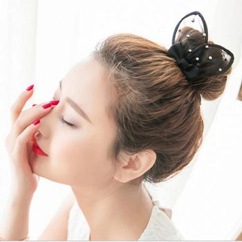 韩版新款气质蕾丝发饰