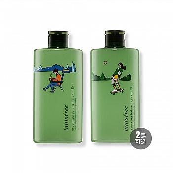 悦诗风吟新绿茶精萃保湿平衡柔肤水-环保手帕限量版