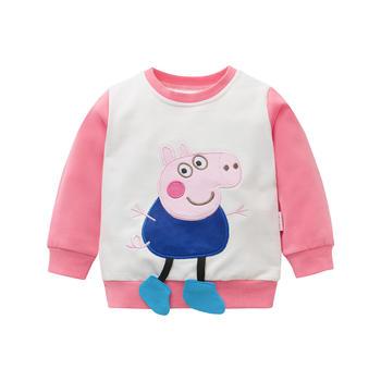 Cipango 新款可爱宝宝卫衣 婴幼儿纯棉衣服