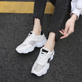 娅莱娅透气网纱款街头休闲运动鞋