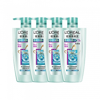 欧莱雅(L'Oreal)透明质酸洗发露家庭组合装(透明质酸洗发露500mlx4)