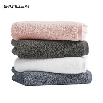 三利家用长绒棉吸水毛巾A类 3条装