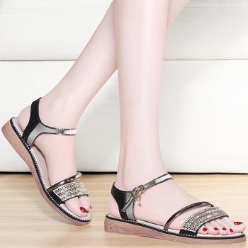 休闲凉鞋女夏季韩版百搭女凉鞋
