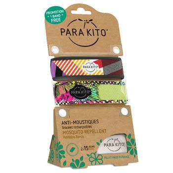 帕洛/parakito 驱蚊手环  条纹+精灵