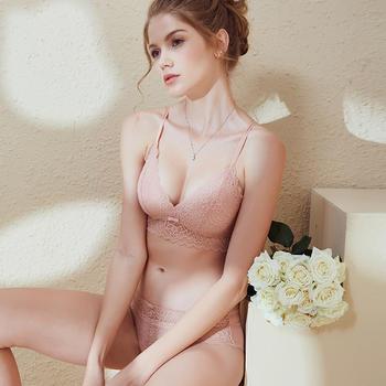 阿弗之吻 夏若繁花超薄文胸套装