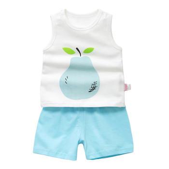 Cipango 新款夏季可爱宝宝短袖套装