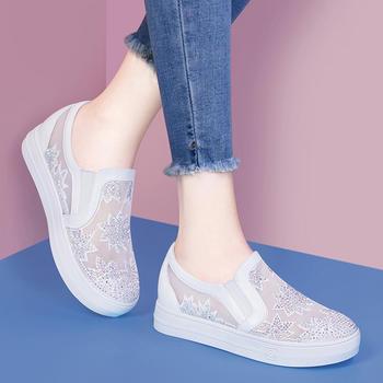 网面透气鞋子小?#20180;?#22799;季新款单鞋