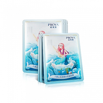 珀莱雅(PROYA)人鱼公主深海水养面贴膜25ml*6