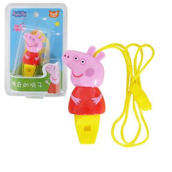小猪佩奇社会人口哨儿童玩具
