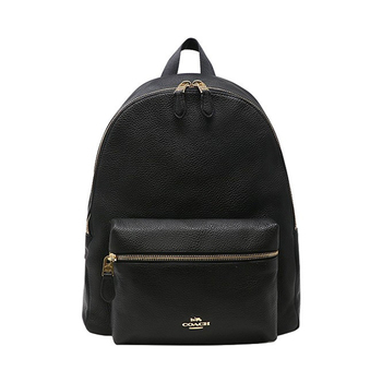 Coach 男女款纯皮双肩背包旅行包
