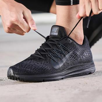 NIKE男新款ZOOM系?#20449;?#27493;鞋AA7406