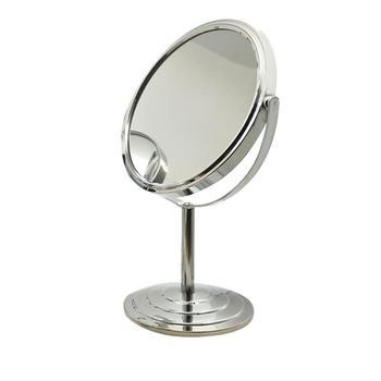 牙小白 台式化妆镜 双面美容镜