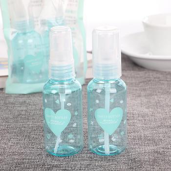 拉美拉 2个装化妆品分装空瓶子PET塑料喷瓶旅行分装瓶