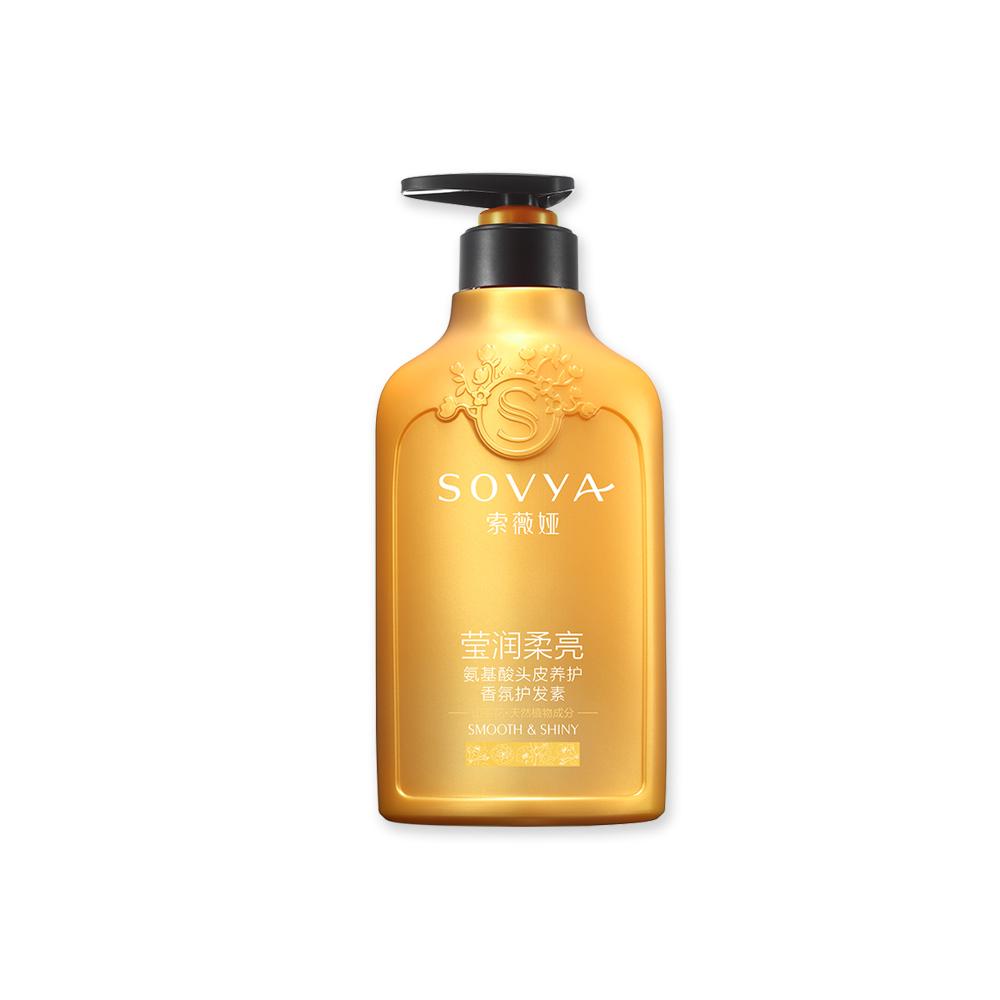 索薇娅山茶花莹润柔亮氨基酸头皮养护香氛护发素500ml_索薇娅(SOVYA)护发素/乳