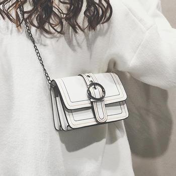 莫妮卡时尚简约链条小包包斜挎包