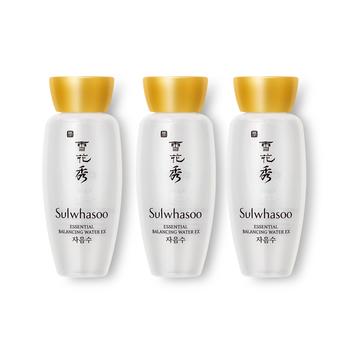 韩国·雪花秀(Sulwhasoo)滋盈肌本平衡水/润颜水15ml*3