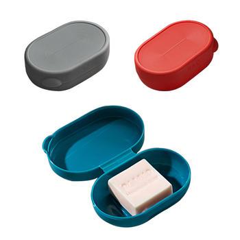 牙小白沥水香皂盒创意?#27490;?#32933;皂架洗脸肥皂托