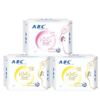 ABC日夜用组合3包24片周期组合