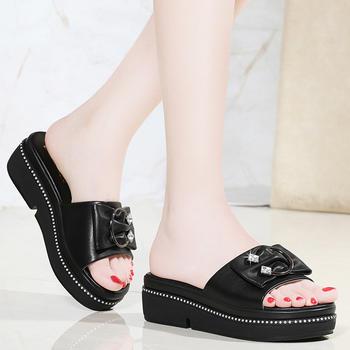 拖鞋女夏外穿时尚软底一字拖鞋