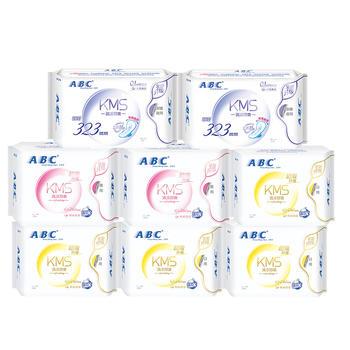 ABC纤薄日夜用周期护理共8包