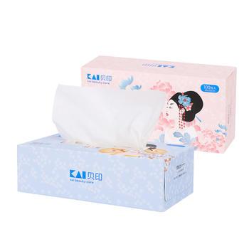 kai/贝印一次性洗脸巾全棉洁面巾擦美容毛巾