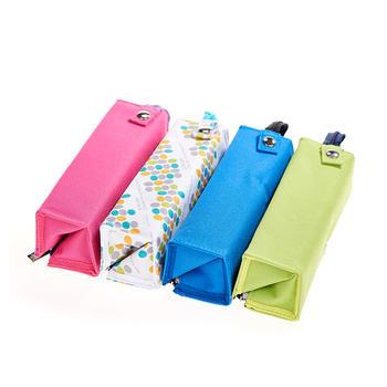 国誉KOKUYO C2-R大容量拓展手提折叠笔袋