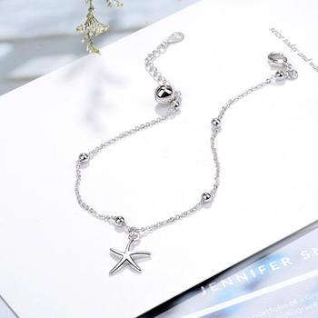 小清新海星铃铛手链