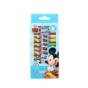 迪士尼油画棒12色(包装随机)