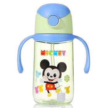 迪士尼双手柄吸管水杯430ml