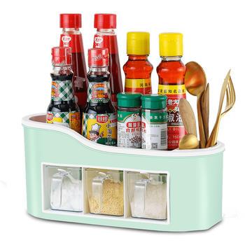 ?厨房用品调料盒罐套装家用油盐调味罐品盒佐料收纳盒组合装