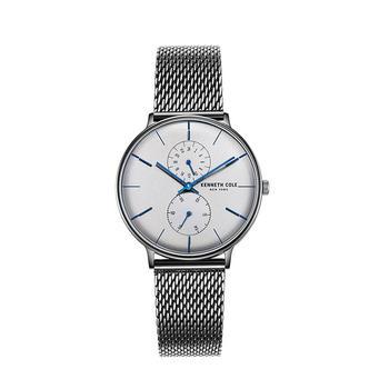 Kenneth Cole男表时尚钢带石英手表