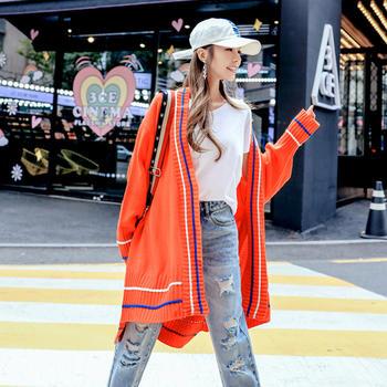天使格格秋装新款韩版外搭开衫